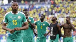 Senegal, MS, smútok