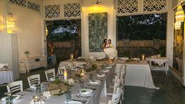 Svadba, Lombok, Indonézia, hostina, stôl, jedlo