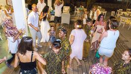 Svadba, Lombok, Indonézia, tanec