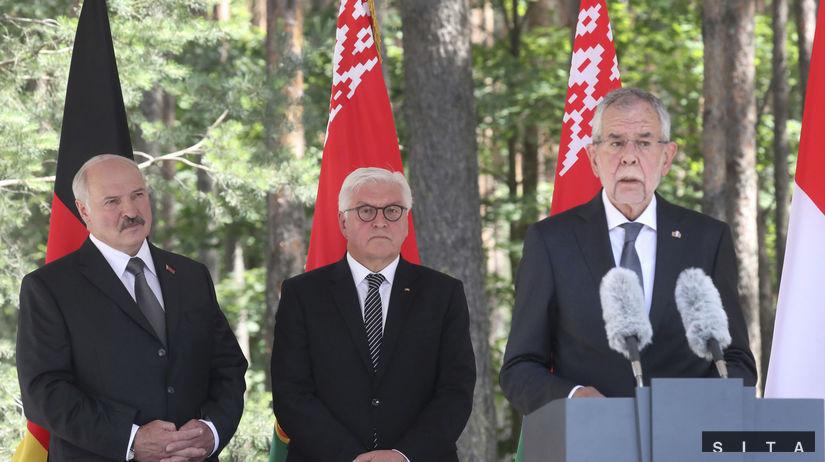 Alexander Lukašenko, Frank-Walter Steinmeier,...