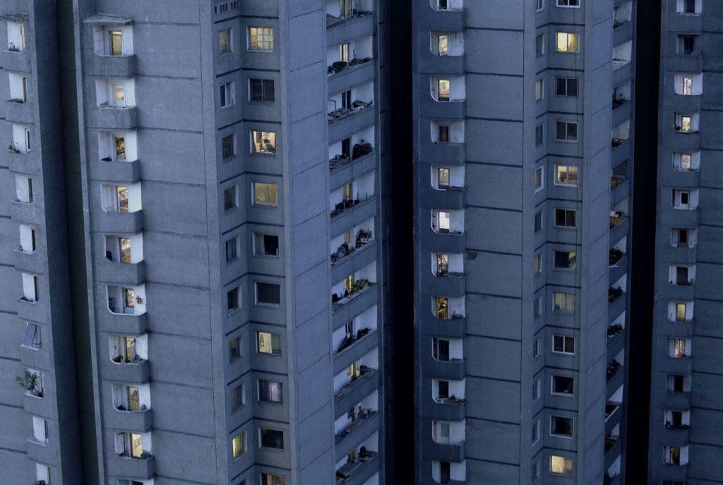 Severná Kórea, KĽDR, bytovka