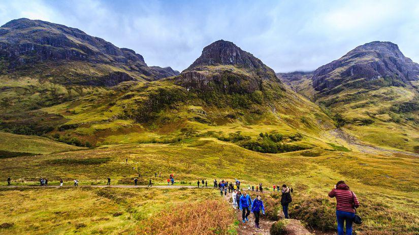 škótsko, škótska vysočina