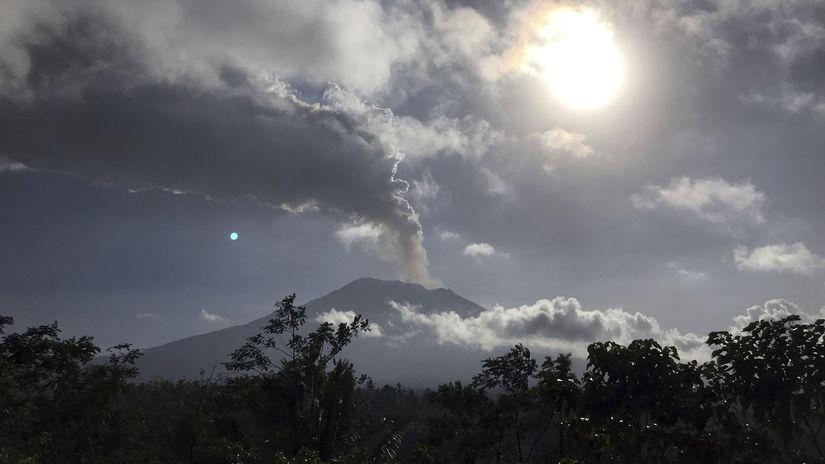 Sopka Agung, indonézia, bali
