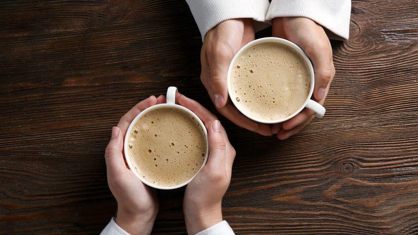 káva, kofeín, pôžitok