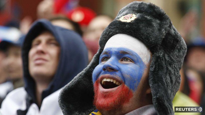 fanúšik rusko futbal