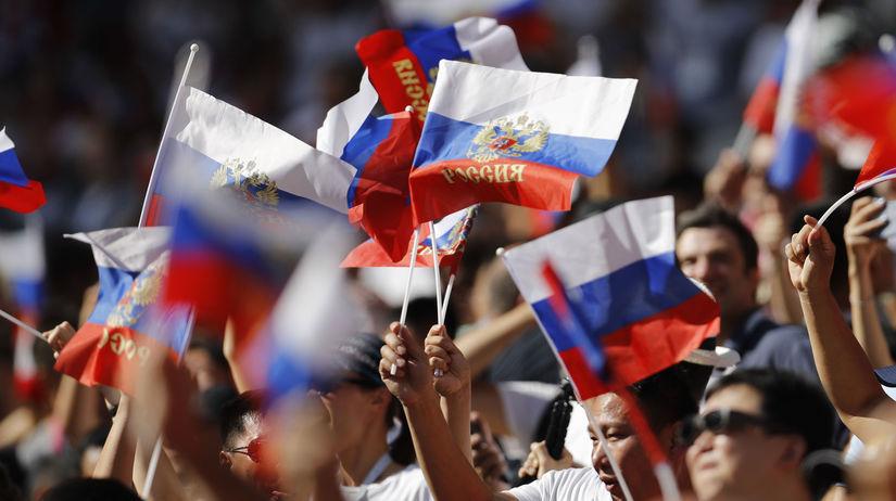 Rusko futbal MS2018 Španielsko Rusko osemfinále