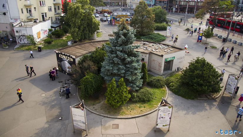 Bratislava mesto Kamenné námestie