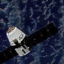 spacex, dragon, iss, družica, vesmírna stanica