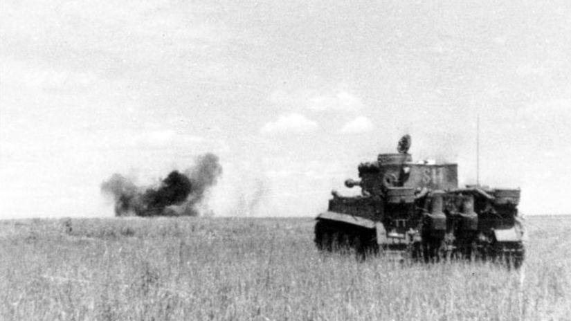 tiger tank, kurská bitka, bitka pri kursku, kursk