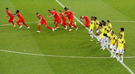 Anglicko, Kolumbia, penalty