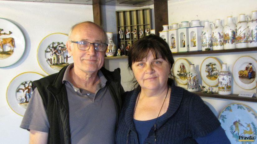 Anna Pečuková, Ján Pečuk, galéria,