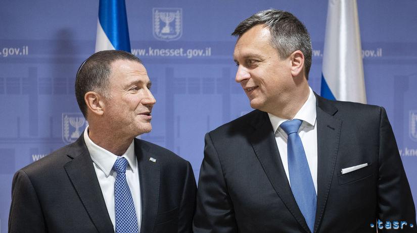 Izrael SR Slovensko Danko návšteva