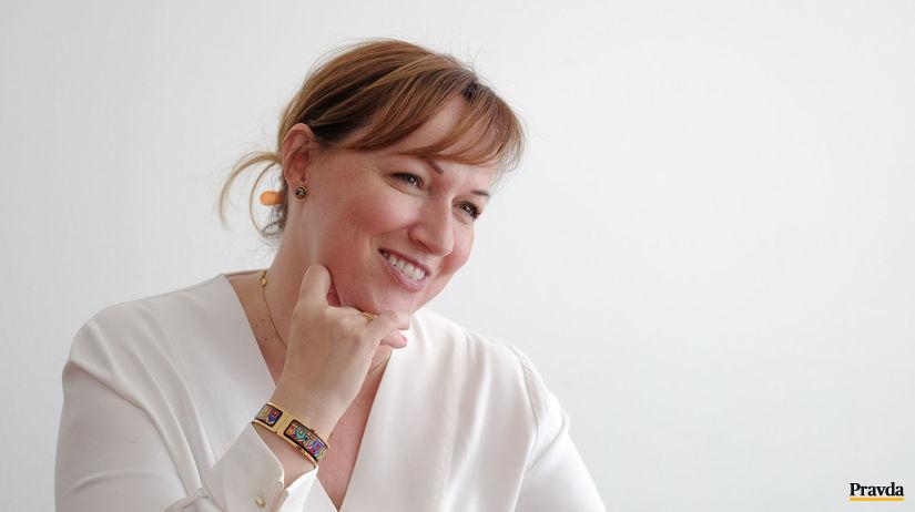 rektorka, Klaudia Halászová,