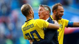 Švédsko, postup, radosť