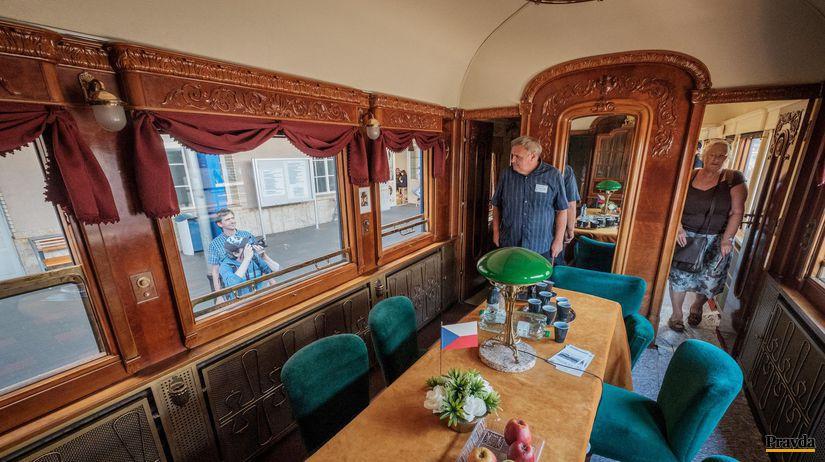 prezidentský vlak, vlak, hlavná stanica,