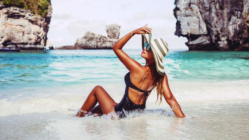 pláž, leto, more, oceán, dovolenka, ostrov,...