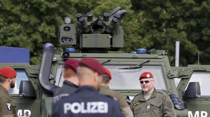 Rakúsko hranice Slovinsko polícia migranti