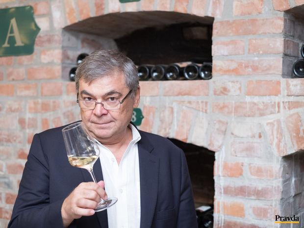 Obrázok Spievajúce víno Petra Matyšáka