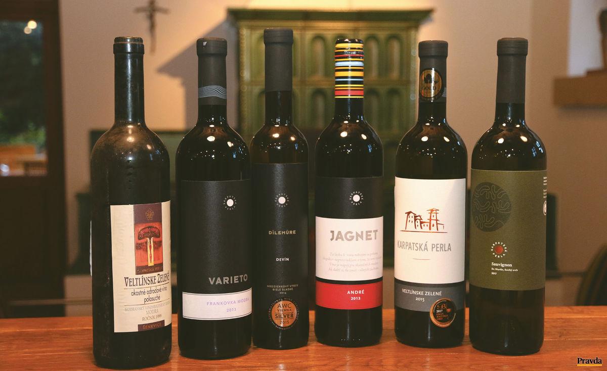 Čas mení víno aj etikety.