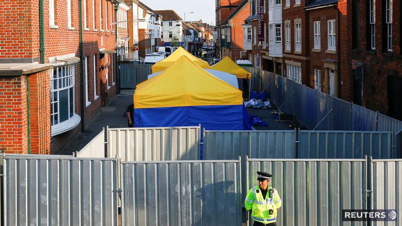 británia, novičok, polícia