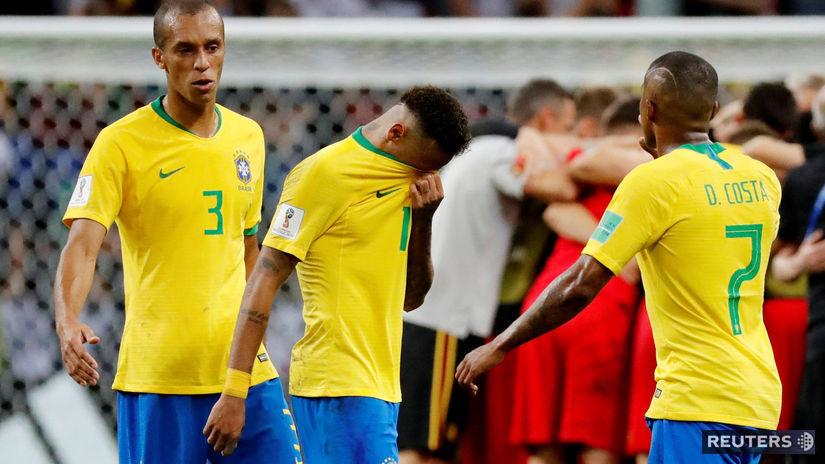 Miranda, Neymar, Douglas Costa