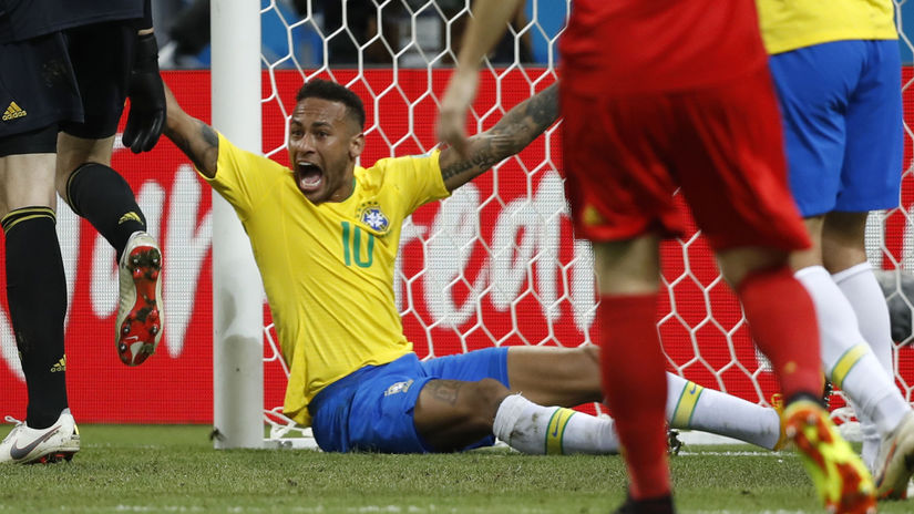 Neymar, penalta