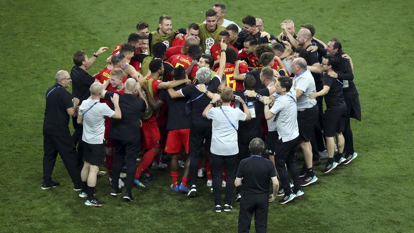 Belgicko, radosť