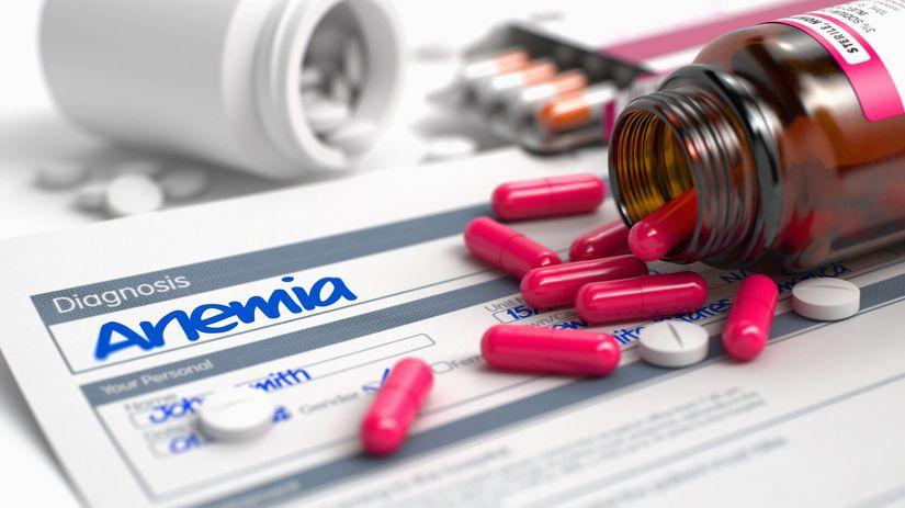 liek, tabletka, anémia
