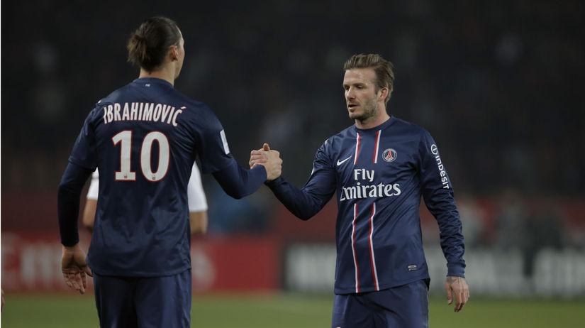 Zlatan Ibrahimovič, David Beckham