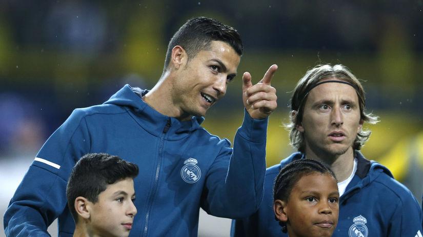 Cristiano Ronaldo, Luka Modrič