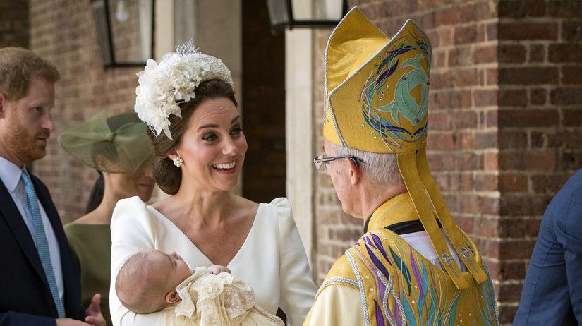 Británia Louis princ krst