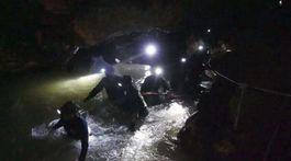 thajsko, záchrana, jaskyňa