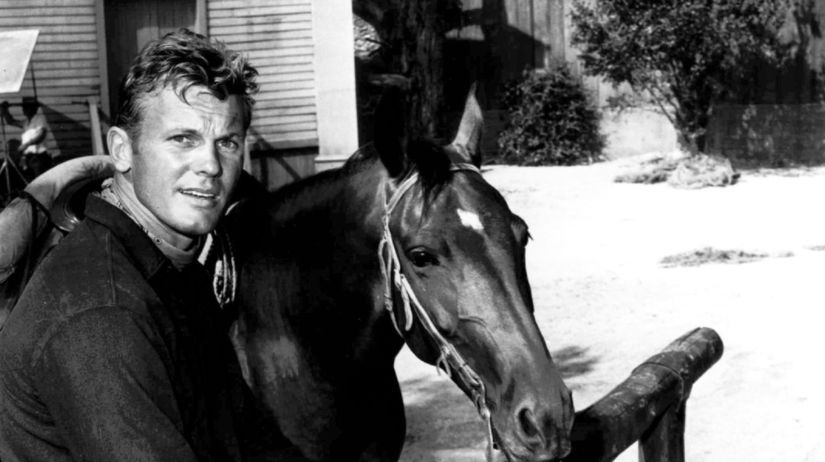 Herec Tab Hunter na zábere z roku 1967.