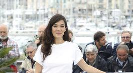 Herečka Melanie Doutey na prezentácii filmu v Cannes.
