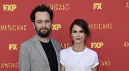 Keri Russell a jej manžel Matthew Rhys