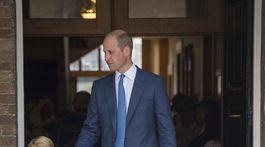 Princ William a jeho deti - princ George a princezná Charlotte nechýbali na krste malého bračeka.
