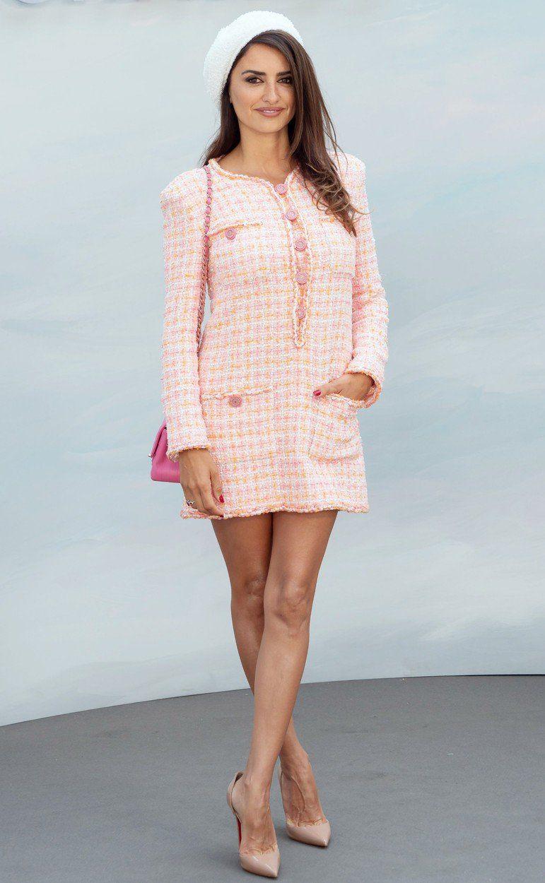 Španielska herečka Penelope Cruz na prehliadke...