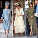 Zľava: Pippa Matthews, vojvodkyňa Kate a vojvodkyňa Meghan.