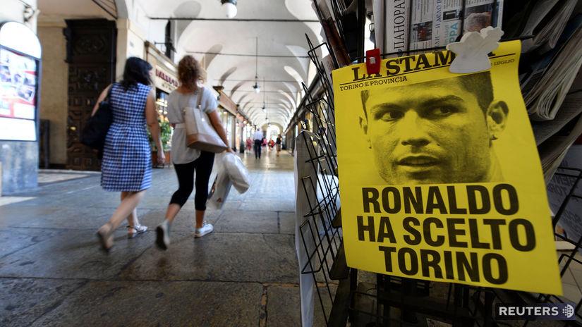Cristiano Ronaldo, Turín