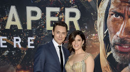 Herečka Neve Campbell a jej partner JJ Feild.