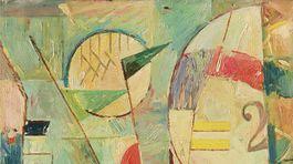 Ľudovít Fulla: Balóny, 1930