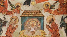 Ľudovít Fulla: Betlehem (Vianoce, Narodenie), 1950