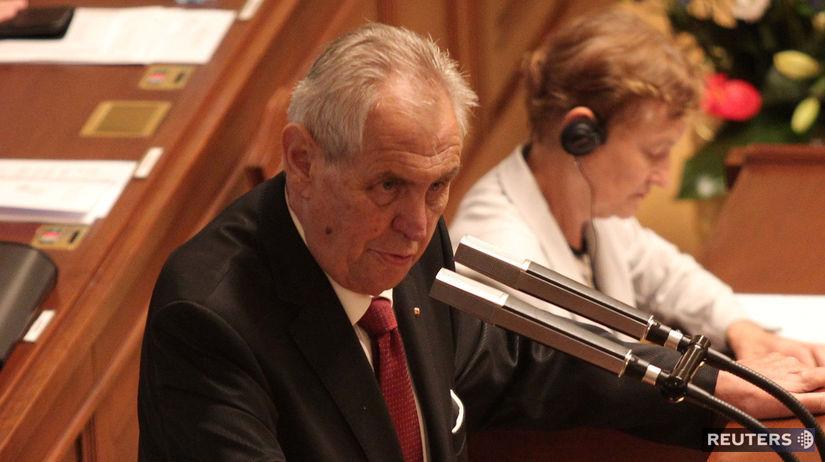 Miloš Zeman, hlasovanie o dôvere českej vlády