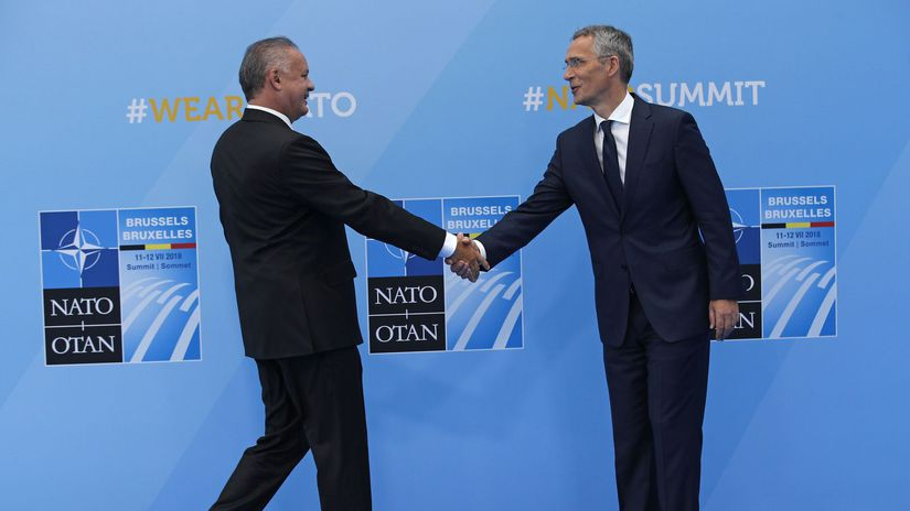 NATO Summit, kiska, stoltenberg