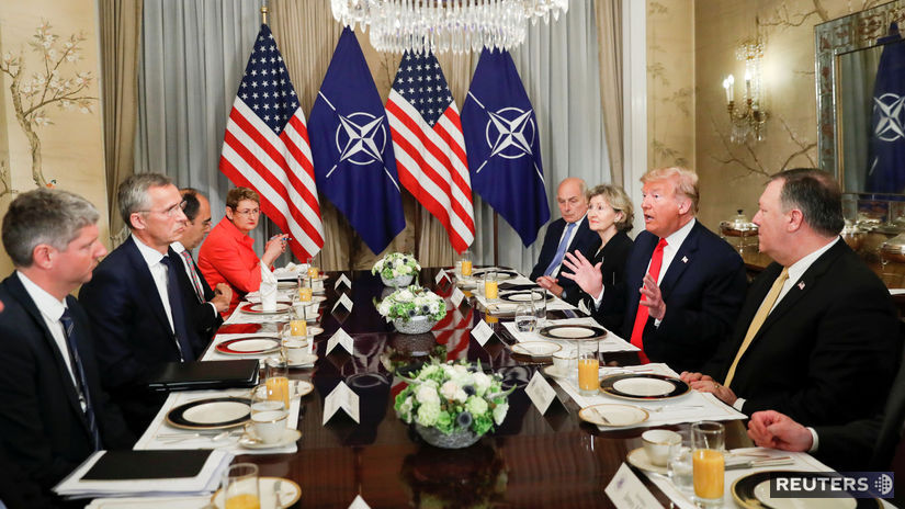 NATO, SUMMIT, trump, stoltenberg