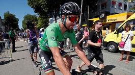 Peter Sagan, 5. etapa, štart