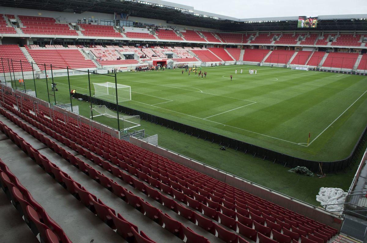 b14ceab071 Štadión bez divákov v prvom stretnutí 1. predkola Ligy majstrov Spartak  Trnava - Zrinjski Mostar