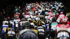 Tour de France, 5. etapa, pelotón