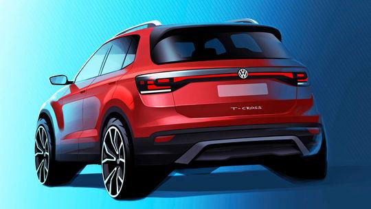 VW T-Cross: 'Terénne Polo' odhaľuje tajomstvá