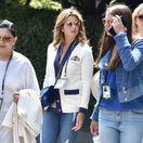 Mirka Federer zjavne miluje značku Gucci.